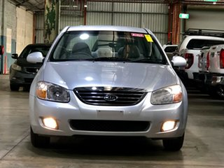 2007 Kia Cerato LD MY07 EX Silver 4 Speed Automatic Sedan.