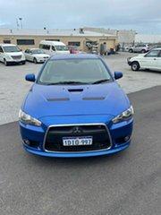 2009 Mitsubishi Lancer CJ MY09 Ralliart Sportback Blue 6 Speed Direct Shift Hatchback.