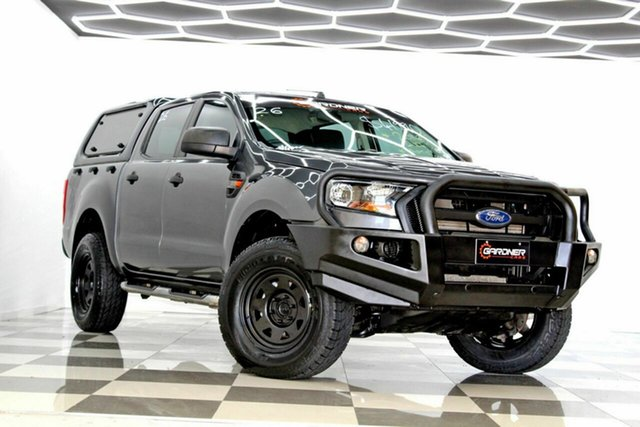 Used Ford Ranger PX MkII MY17 XL 2.2 (4x4) Burleigh Heads, 2016 Ford Ranger PX MkII MY17 XL 2.2 (4x4) Grey 6 Speed Automatic Crew Cab Utility