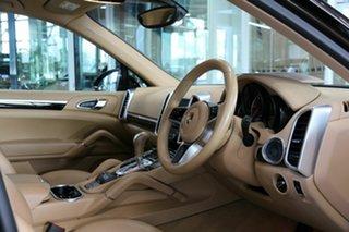 2017 Porsche Cayenne 92A MY17 Platinum Edition Tiptronic Brown 8 Speed Sports Automatic Wagon.