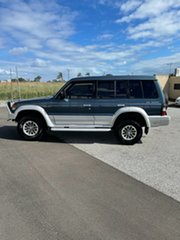 1992 Mitsubishi Pajero NH GLS LWB (4x4) Blue 4 Speed Automatic 4x4 Wagon