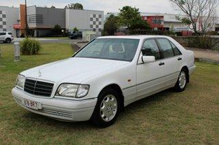 1995 Mercedes-Benz S-Class W140 S280 White 4 Speed Automatic Sedan.