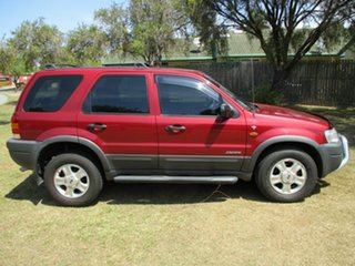 2003 Ford Escape BA XLT Red 4 Speed Automatic SUV.