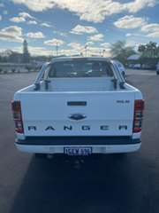 2016 Ford Ranger PX MkII XLS Double Cab Cool White 6 Speed Sports Automatic Utility