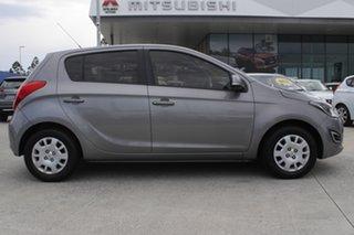 2014 Hyundai i20 PB MY14 Active Grey 4 Speed Automatic Hatchback.