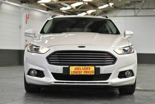 2018 Ford Mondeo MD 2018.25MY Trend White 6 Speed Sports Automatic Dual Clutch Wagon.