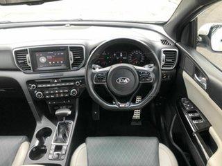 2017 Kia Sportage QL MY18 GT-Line AWD White 6 Speed Sports Automatic Wagon