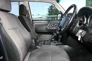 2011 Mitsubishi Pajero NT MY11 Platinum Black 5 Speed Sports Automatic Wagon