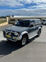1992 Mitsubishi Pajero NH GLS LWB (4x4) Blue 4 Speed Automatic 4x4 Wagon.