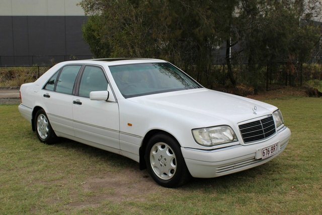 Used Mercedes-Benz S-Class W140 S280 Ormeau, 1995 Mercedes-Benz S-Class W140 S280 White 4 Speed Automatic Sedan