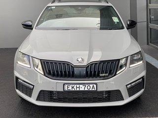 2020 Skoda Octavia NE MY20.5 RS DSG 245 Grey 7 Speed Sports Automatic Dual Clutch Wagon.