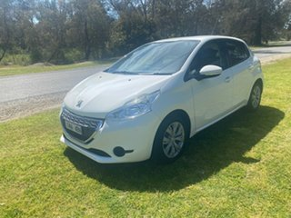 2012 Peugeot 208 A9 Active White 5 Speed Manual Hatchback