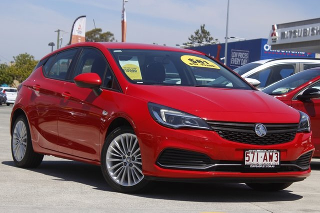 Used Holden Astra BK MY17 R Aspley, 2016 Holden Astra BK MY17 R Red 6 Speed Sports Automatic Hatchback