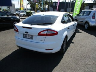 2010 Ford Mondeo LX White 4 Speed Automatic Hatchback