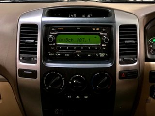 2006 Toyota Landcruiser Prado GRJ120R GXL Gold 5 Speed Automatic Wagon