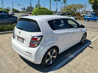 2017 Holden Barina TM MY17 LT White 6 Speed Automatic Hatchback.