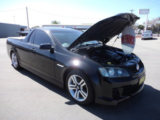 2010 Holden Commodore VE MY10 SV6 8 Ball Black 6 Speed Manual Utility.