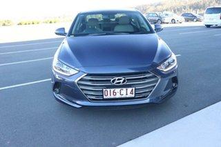 2017 Hyundai Elantra AD MY17 Elite Stargazing Blue 6 Speed Sports Automatic Sedan.