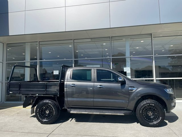 Used Ford Ranger PX MkII XLT Double Cab Ferntree Gully, 2017 Ford Ranger PX MkII XLT Double Cab Grey 6 Speed Manual Utility