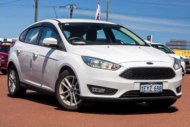 Used Ford Focus LZ Trend Osborne Park, 2016 Ford Focus LZ Trend White 6 Speed Automatic Hatchback