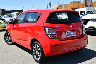 2017 Holden Barina TM MY17 LS Red 6 Speed Automatic Hatchback.