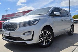 2019 Kia Carnival YP MY19 SLi Silky Silver 8 Speed Wagon