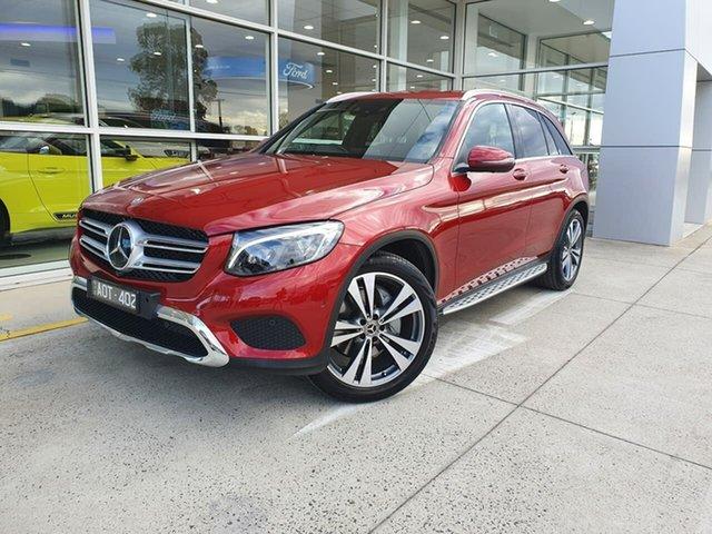 Used Mercedes-Benz GLC-Class X253 807MY GLC250 d 9G-Tronic 4MATIC Ferntree Gully, 2017 Mercedes-Benz GLC-Class X253 807MY GLC250 d 9G-Tronic 4MATIC Red 9 Speed Sports Automatic Wagon