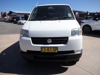 2013 Suzuki APV GD MY06 Upgrade Abalone White 5 Speed Manual Van.