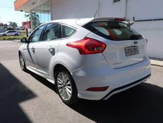 2016 Ford Focus LZ Sport White 6 Speed Automatic Hatchback