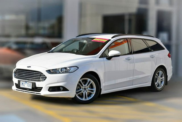 Used Ford Mondeo MD 2018.25MY Ambiente Berwick, 2018 Ford Mondeo MD 2018.25MY Ambiente White 6 Speed Sports Automatic Wagon