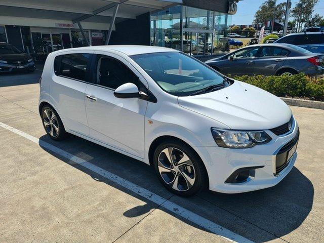 Used Holden Barina TM MY17 LT Yamanto, 2017 Holden Barina TM MY17 LT White 6 Speed Automatic Hatchback