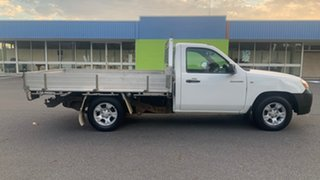 2009 Mazda BT-50 White 6 Speed Manual Cab Chassis