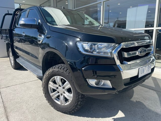 Used Ford Ranger PX MkII XLT Double Cab Ferntree Gully, 2017 Ford Ranger PX MkII XLT Double Cab Black 6 Speed Manual Utility