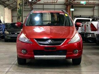 2006 Mitsubishi Grandis BA MY07 VR-X Red 4 Speed Sports Automatic Wagon.