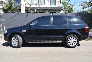 2010 Ford Territory SY MkII Ghia RWD Black 4 Speed Sports Automatic Wagon.