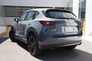 2021 Mazda CX-5 KF4WLA GT SKYACTIV-Drive i-ACTIV AWD SP Polymetal Grey 6 Speed Sports Automatic.