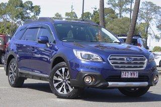 2016 Subaru Outback B6A MY16 3.6R CVT AWD Blue 6 Speed Constant Variable Wagon.