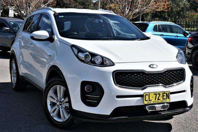 Used Kia Sportage QL MY17 Si AWD Phillip, 2017 Kia Sportage QL MY17 Si AWD White 6 Speed Sports Automatic Wagon