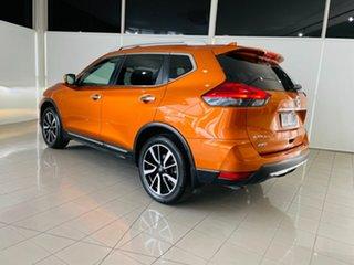 2018 Nissan X-Trail T32 Series II Ti X-tronic 4WD Orange 7 Speed Constant Variable Wagon.