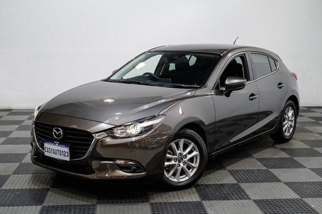 Used Mazda 3 BN5478 Maxx SKYACTIV-Drive Sport Edgewater, 2018 Mazda 3 BN5478 Maxx SKYACTIV-Drive Sport Bronze 6 Speed Sports Automatic Hatchback