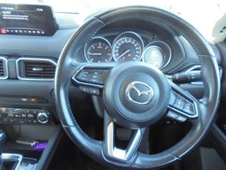 2017 Mazda CX-5 KF4W2A Akera SKYACTIV-Drive i-ACTIV AWD White 6 Speed Sports Automatic Wagon