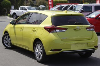 2018 Toyota Corolla ZRE182R Ascent Sport S-CVT Yellow 7 Speed Constant Variable Hatchback.