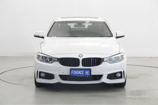 2015 BMW 4 Series F32 420i M Sport White 8 Speed Sports Automatic Coupe.
