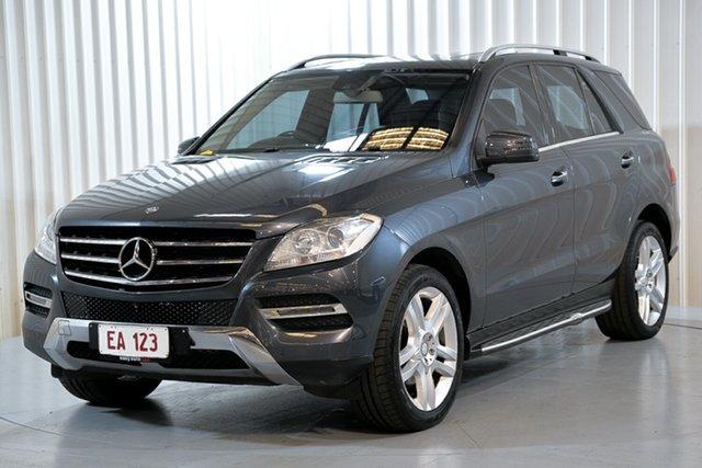 Used Mercedes-Benz M-Class W166 ML250 BlueTEC 7G-Tronic + Hendra, 2013 Mercedes-Benz M-Class W166 ML250 BlueTEC 7G-Tronic + Grey 7 Speed Sports Automatic Wagon