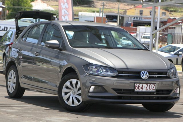 Used Volkswagen Polo AW MY21 70TSI DSG Trendline Bundamba, 2020 Volkswagen Polo AW MY21 70TSI DSG Trendline Grey 7 Speed Sports Automatic Dual Clutch Hatchback