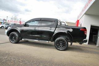2015 Mitsubishi Triton MQ MY16 Exceed (4x4) Black 5 Speed Automatic Dual Cab Utility.