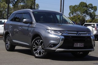 2017 Mitsubishi Outlander ZL MY18.5 Exceed AWD Grey 6 Speed Constant Variable Wagon.