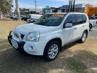 2009 Nissan X-Trail T31 TI White 1 Speed Constant Variable Wagon.
