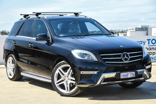 Used Mercedes-Benz M-Class W166 ML350 BlueTEC 7G-Tronic + Osborne Park, 2013 Mercedes-Benz M-Class W166 ML350 BlueTEC 7G-Tronic + Black 7 Speed Sports Automatic Wagon