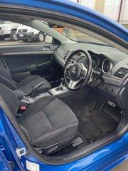 2009 Mitsubishi Lancer CJ MY09 Ralliart Sportback Blue 6 Speed Direct Shift Hatchback